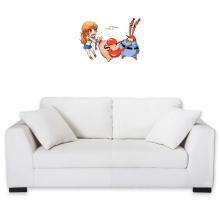 Décorations murales  parodique Nami et Krabs : Duel de pinces :) (Parodie )