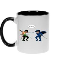 Mugs  parodique Zoro Roronoa : D