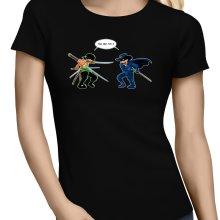 T-shirts Femmes  parodique Zoro Roronoa : D