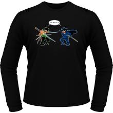 T-Shirts à manches longues  parodique Zoro Roronoa : D