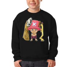 Sweat-shirts  parodique Tony Tony Chopper : Etendage pirate :) (Parodie )