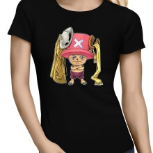 T-shirts Femmes  parodique Tony Tony Chopper : Etendage pirate :) (Parodie )