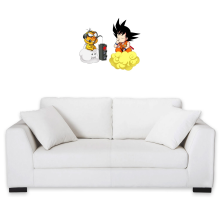 Funny Wall Pediments - Son Goku and Lakitu ( Parody)