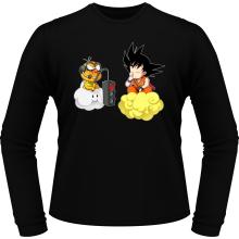 T-Shirts à manches longues  parodique Sangoku et Lakitu : Feu Rouge ;) (Parodie )