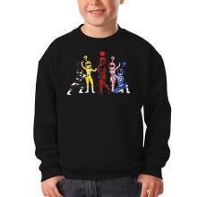 Sweat-shirts  parodique Power Rangers Vs Deadpool : Force Rouge !! (Parodie )