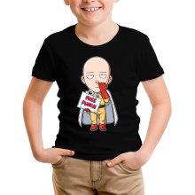 T-shirts  parodique Saitama : Free Punch ! (Parodie )