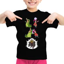T-shirts  parodique Sir Crocodile le Shichibukai : FUSION ! YAHAAAA ! Capitaine Croco :) (Parodie )