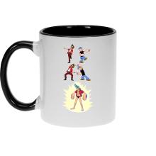 Mugs  parodique Franky, Ace Ventura et Popeye : FUSION YAHAAAAA !!! (Super Splendide :) (Parodie )
