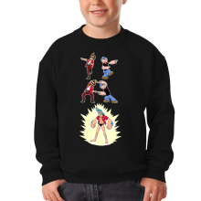 Sweat-shirts  parodique Franky, Ace Ventura et Popeye : FUSION YAHAAAAA !!! (Super Splendide :) (Parodie )