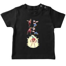 T-shirts  parodique Franky, Ace Ventura et Popeye : FUSION YAHAAAAA !!! (Super Splendide :) (Parodie )