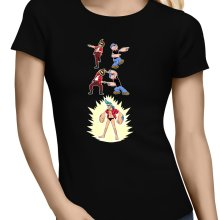 T-shirts Femmes  parodique Franky, Ace Ventura et Popeye : FUSION YAHAAAAA !!! (Super Splendide :) (Parodie )