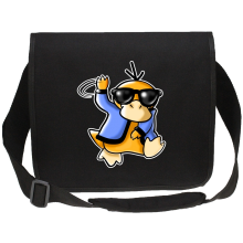 Funny  Canvas Messenger Bag - Psyduck ( Parody) (Ref:599)