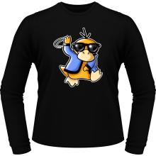 T-Shirts à manches longues  parodique Psykokwak réalisant le Gangnam Style : Gangduck Style by Psyko :) (Parodie )