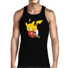 Débardeurs  parodique Pikachu et Sasha : Grrrr, Vengeance !!!! :) (Parodie )
