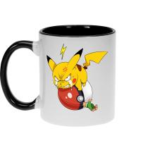 Mugs  parodique Pikachu et Sasha : Grrrr, Vengeance !!!! :) (Parodie )