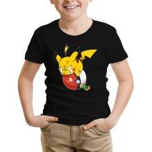 T-shirts  parodique Pikachu et Sasha : Grrrr, Vengeance !!!! :) (Parodie )