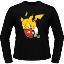 T-Shirts à manches longues  parodique Pikachu et Sasha : Grrrr, Vengeance !!!! :) (Parodie )