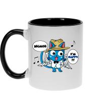 Mugs  parodique Happy : Happy Williams :) (Parodie )