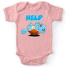 Body bébé (Filles)  parodique Carapuce : Help !!! (Parodie )