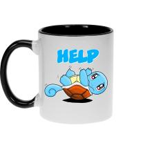 Mugs  parodique Carapuce : Help !!! (Parodie )