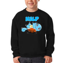 Funny  Kids Sweater - Squirtle ( Parody) (Ref:359)