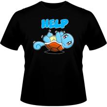 T-shirts  parodique Carapuce : Help !!! (Parodie )