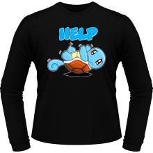 T-Shirts à manches longues  parodique Carapuce : Help !!! (Parodie )