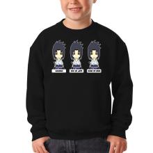 Pull Enfant  parodique Sasuke Uchiwa : L