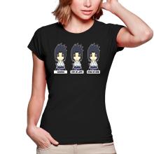 T-shirts Femmes  parodique Sasuke Uchiwa : L