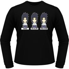 T-Shirts à manches longues  parodique Sasuke Uchiwa : L