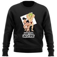 Pull  parodique Sangoku, Végéta et Broly : Le grand Concours de Mister Univers ! (Parodie )
