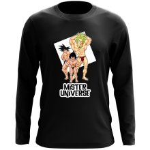 Funny Long Sleeve Tops - Son Goku, Vegeta and Broly ( Parody)