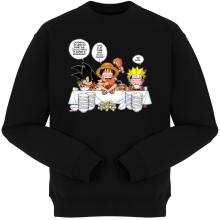 Pulls  parodique Luffy, Naruto et Sangoku : La recette d