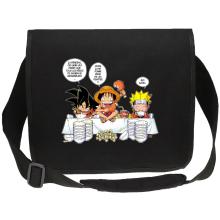 Sacs bandoulière Canvas  parodique Luffy, Naruto et Sangoku : La recette d