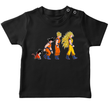 T-shirts (French Days)  parodique Sangoku Super Saiyajin : La Théorie de l