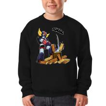 Sweat-shirts  parodique Goldorak - Astéro-hache : Le Bûcheron de l