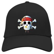 Casquette  parodique Luffy et Jack Sparrow : Le Drapeau Pirate du Capitaine Jack à la Sauce Manga :) (Parodie )