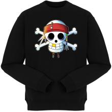 Pulls  parodique Luffy et Jack Sparrow : Le Drapeau Pirate du Capitaine Jack à la Sauce Manga :) (Parodie )