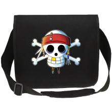 Sacs bandoulière  parodique Luffy et Jack Sparrow : Le Drapeau Pirate du Capitaine Jack à la Sauce Manga :) (Parodie )