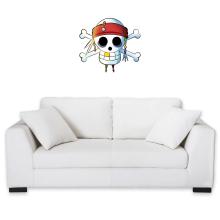 Décorations murales  parodique Luffy et Jack Sparrow : Le Drapeau Pirate du Capitaine Jack à la Sauce Manga :) (Parodie )