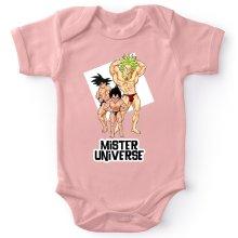 Bodys  parodique Sangoku, Végéta et Broly : Le grand Concours de Mister Univers ! (Parodie )