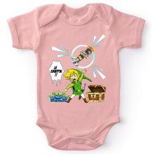Body bébé (Filles)  parodique Link et les Aliens : Le Grappin... !! (Parodie )