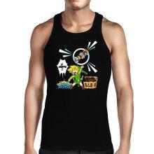 Débardeur  parodique Link et les Aliens : Le Grappin... !! (Parodie )