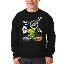 Pull Enfant  parodique Link et les Aliens : Le Grappin... !! (Parodie )