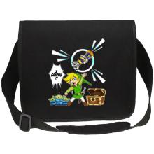 Sac bandoulière Canvas  parodique Link et les Aliens : Le Grappin... !! (Parodie )