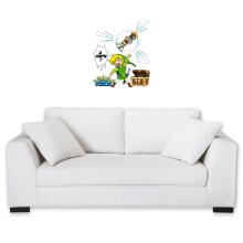 Sticker Mural  parodique Link et les Aliens : Le Grappin... !! (Parodie )