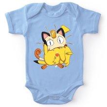 Body bébé  parodique Pikachu et Miaouss : Le jeu du Chat et la Souris :) (Parodie )