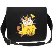 Sacs bandoulière Canvas  parodique Pikachu et Miaouss : Le jeu du Chat et la Souris :) (Parodie )