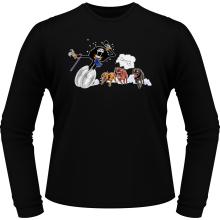 T-Shirts à manches longues  parodique Brook : Le meilleur ami du Chien ! (Parodie )