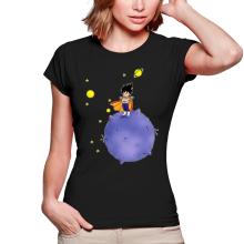 T-shirts Femmes  parodique Végéta : Le Petit Prince Saiyan (Parodie )